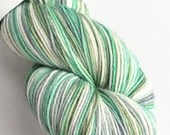 Hand dyed variegated sock...