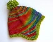 Child's wool hat. Han...