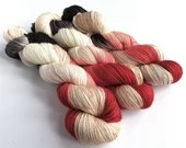 Hand dyed variegated sing...