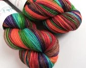 Hand dyed bamboo wool yar...
