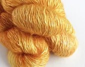 Hand dyed tonal gold kid ...