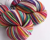 Hand dyed rainbow high tw...