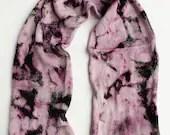 Hand dyed sock yarn blank, superwash merino/nylon/sparkle knitted blank.  100g/400m/437yds, Aubergine purple and green knitting blank.