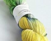 Hand dyed yarn, singles s...