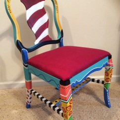 Dr Seuss Chair Serena And Lily Chairs Furniture Etsy Made To Order Handpainted Oh The Places You Will Go Whimsical