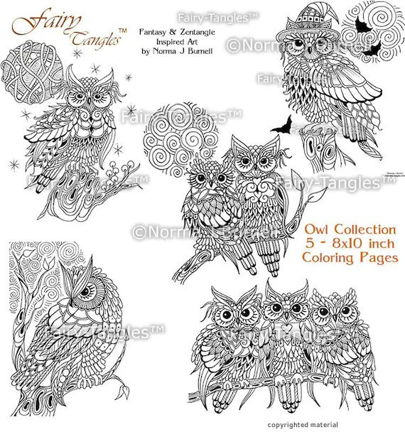 printable owl coloring pages # 73