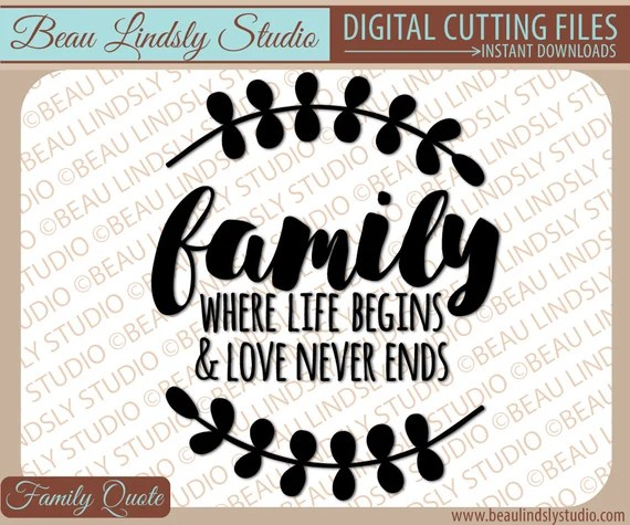 Download Family SVG Quote About Family Love svg Love My Family svg ...