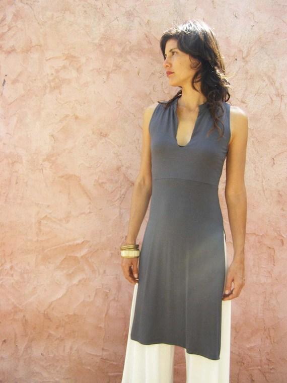 Summer Tunic Tops Tunic Dress Sleeveless Tunic Tunics For | Etsy