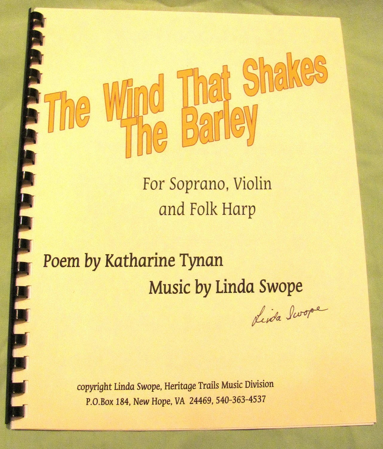 Wind That Shakes The Barley Violin Sheet Music
