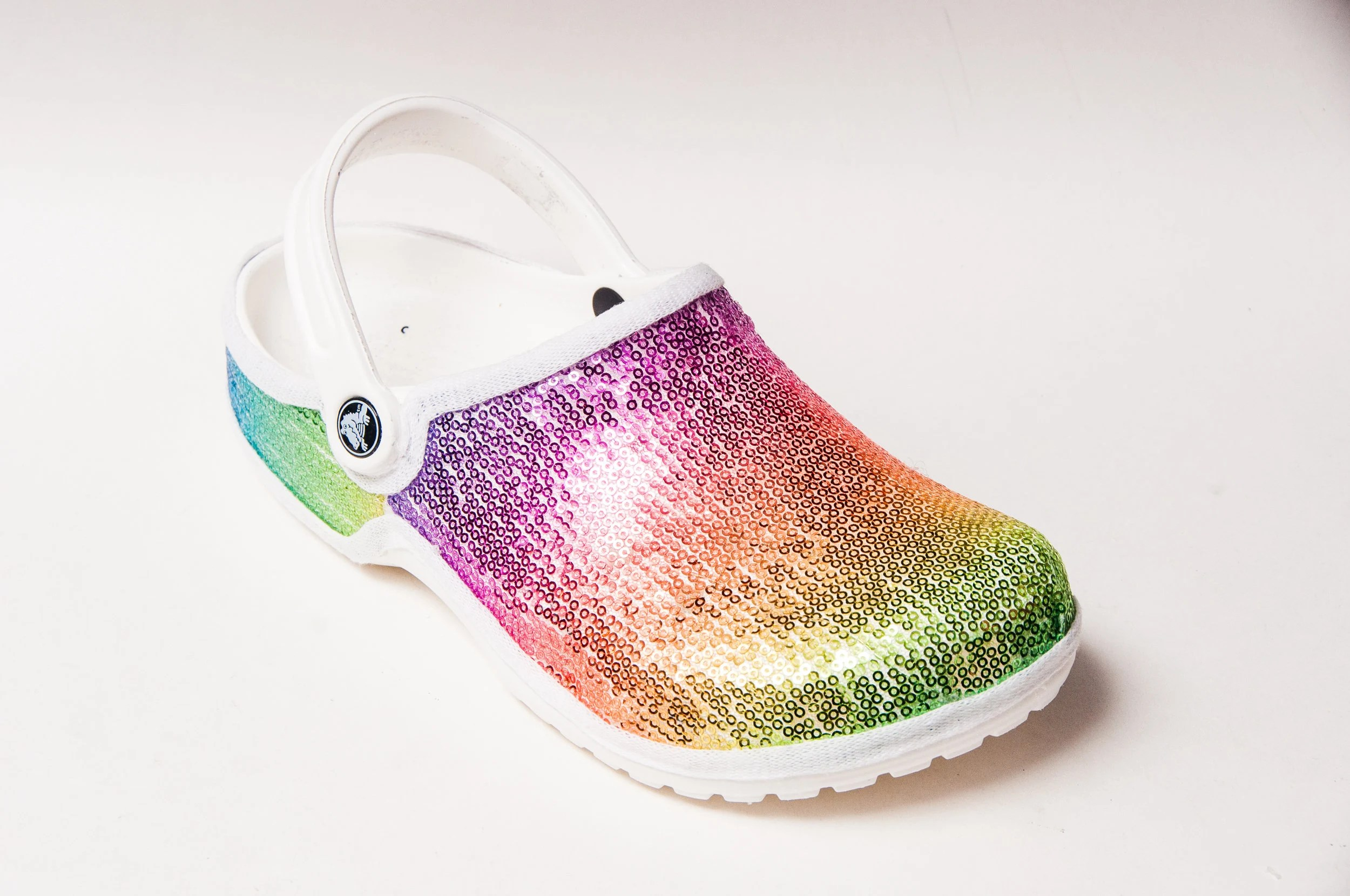 Multi Colored Slip On Shoes