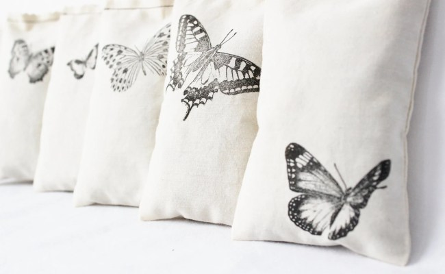 7 Butterfly Sachets Unique Gift For Wife Cotton Etsy