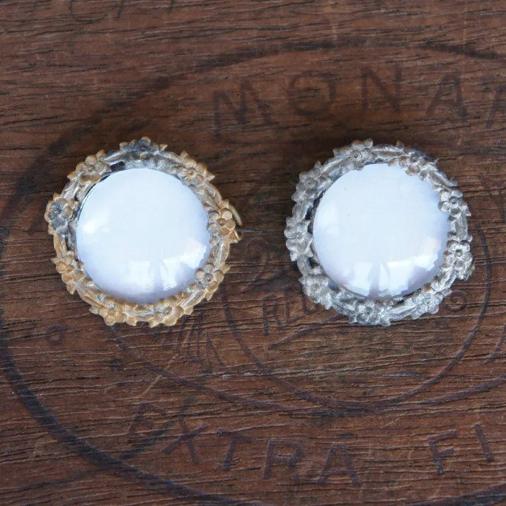 Two Antique French Convex...