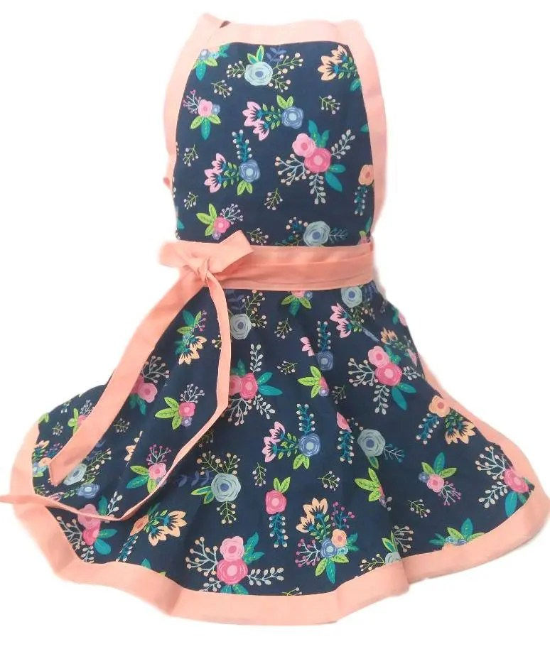 kitchen apron for kids farm style sink girls childs etsy image 0