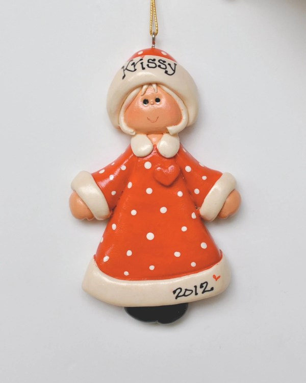 Personalized Claus Christmas Ornament