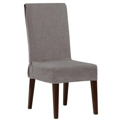 Anna Slipcover Chair Collection Glam Dining Chairs Etsy Sure Fit Mason Short Room Gray