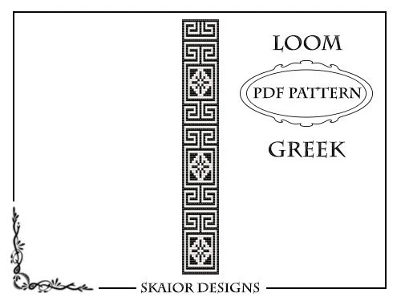 Loom Beading Pattern Loom Bracelet Geometric Seed Beads