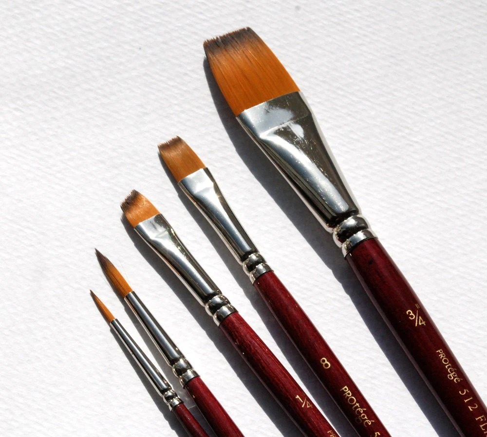 watercolor brushes paint brushes