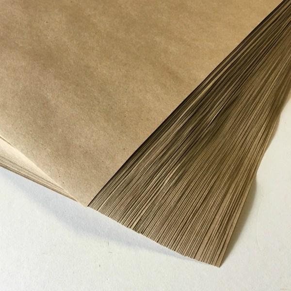 Kraft Paper Sheets 100 . Full 8.5 X 11 Grocery