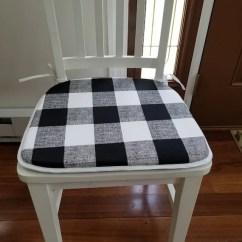 Thick Chair Cushions Walmart Club Set Of 6 Flat Pads Seat 1 Foam Etsy Image 0