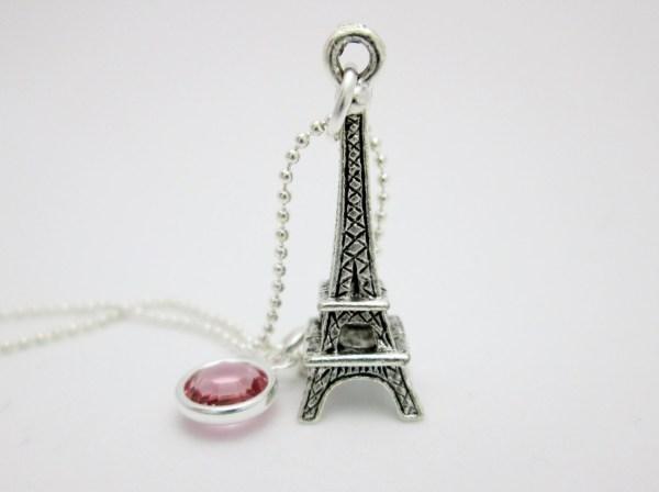 Eiffel Tower Necklace Paris Charm In