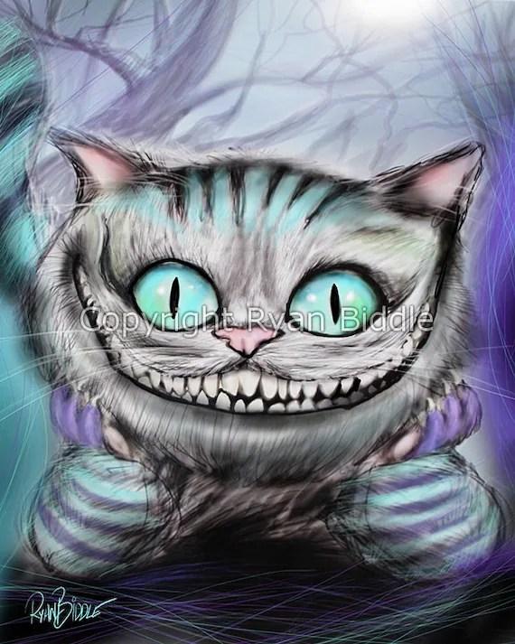 Chat Alice Aux Pays Des Merveilles : alice, merveilles, Cheshire, D'Alice, Merveilles, Dessin