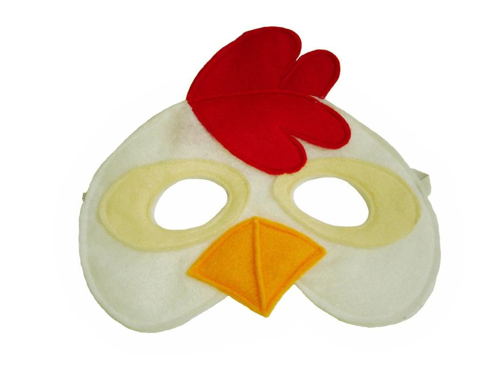 Children S Chicken Farm Animal Felt Mask
