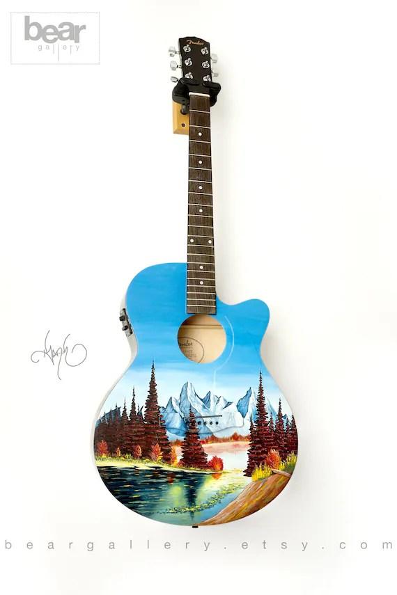 Iris OG Sunburst Painted Acoustic Guitar, Honduran