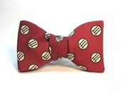 Red Antifascist bow tie...