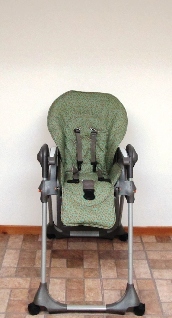 padded high chair baby swing seat chicco polly cover replacement etsy image 0