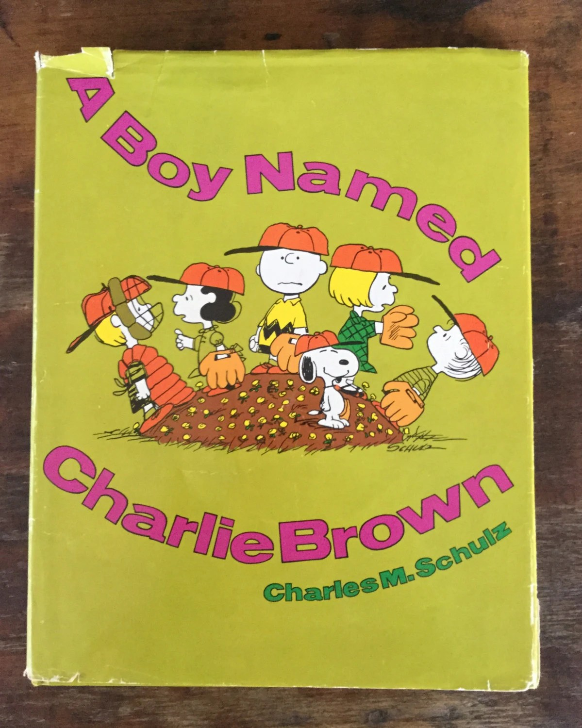 A Boy Named Charlie Brown Holt Rinehart Winston 1st Ed