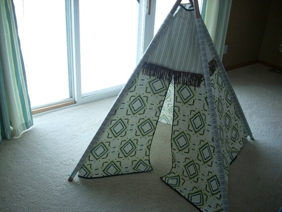 kids teepee playhouse tent