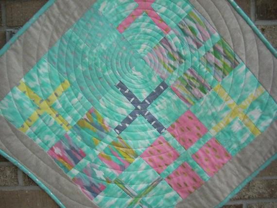 sunshine serenade four patch centerpiece pattern sheet