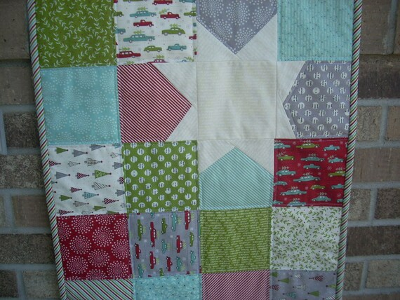 holly's tree farm tablerunner pattern sheet