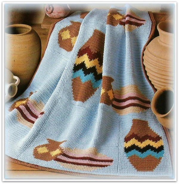 Crochet Navajo Afghan Year Of Clean Water