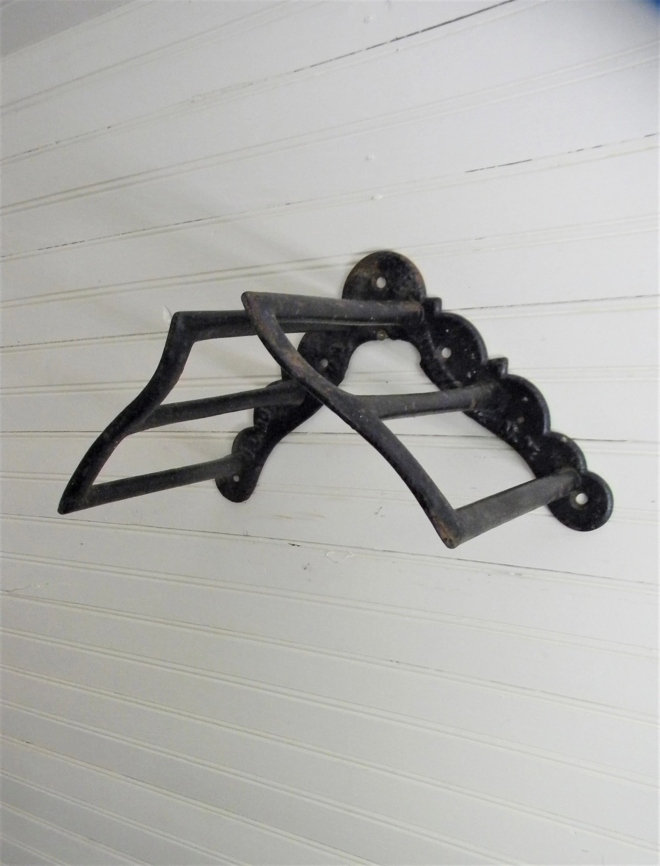antique wrought iron harness