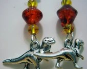 Jurassic Park Earrings...