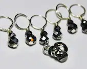 Rose Stitch Markers...