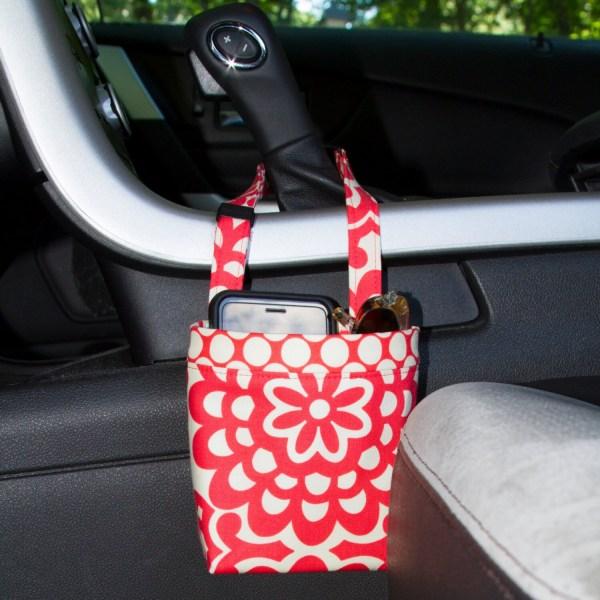 Car Cellphone Caddy Amy Butler Lotus Cherry Sunglasses