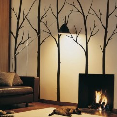 Living Room Tree Front Fifth Wheel Models Wall Decals Etsy Sticker Set Large Decal