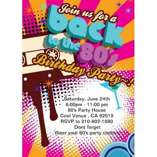80s 70s party invitations retro invitations 80s themed party birthday invitations 80s invitation printable 80s party invitation