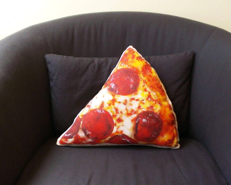 pizza pillow gift for