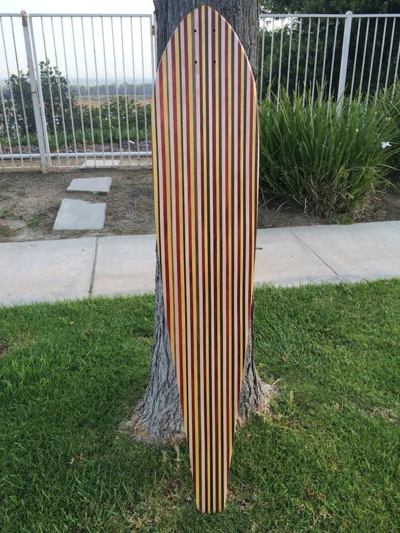amazing solid wood longboard