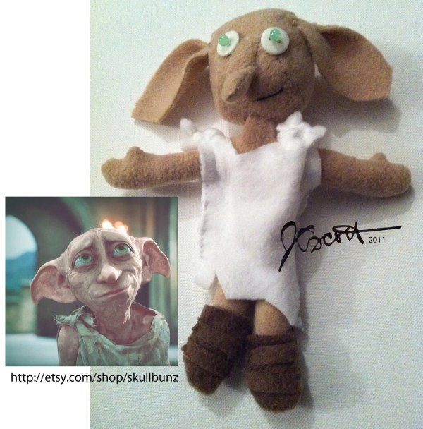 Dobby Doll Harry Potter With Shoes