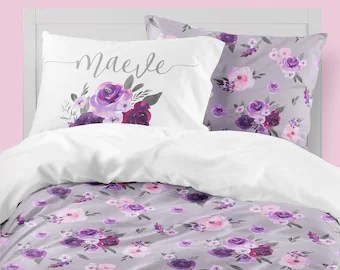 girl twin bedding etsy
