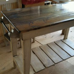 Distressed Kitchen Island Sink Faucet Etsy Deposit Listing Pine Farm Style Work Table Shipping Available Free Local Pick Up
