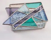 Pastel Stained Glass Box,...