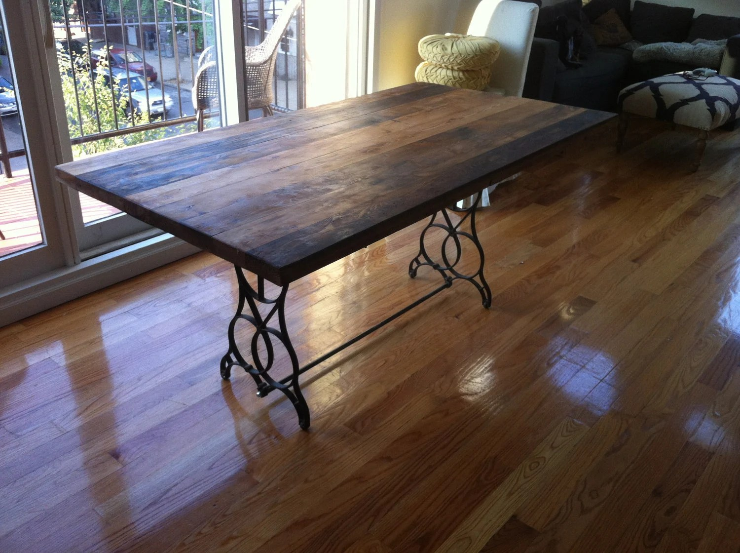 kitchen table top sinks for 30 inch base cabinet reclaimed wood dining free shipping