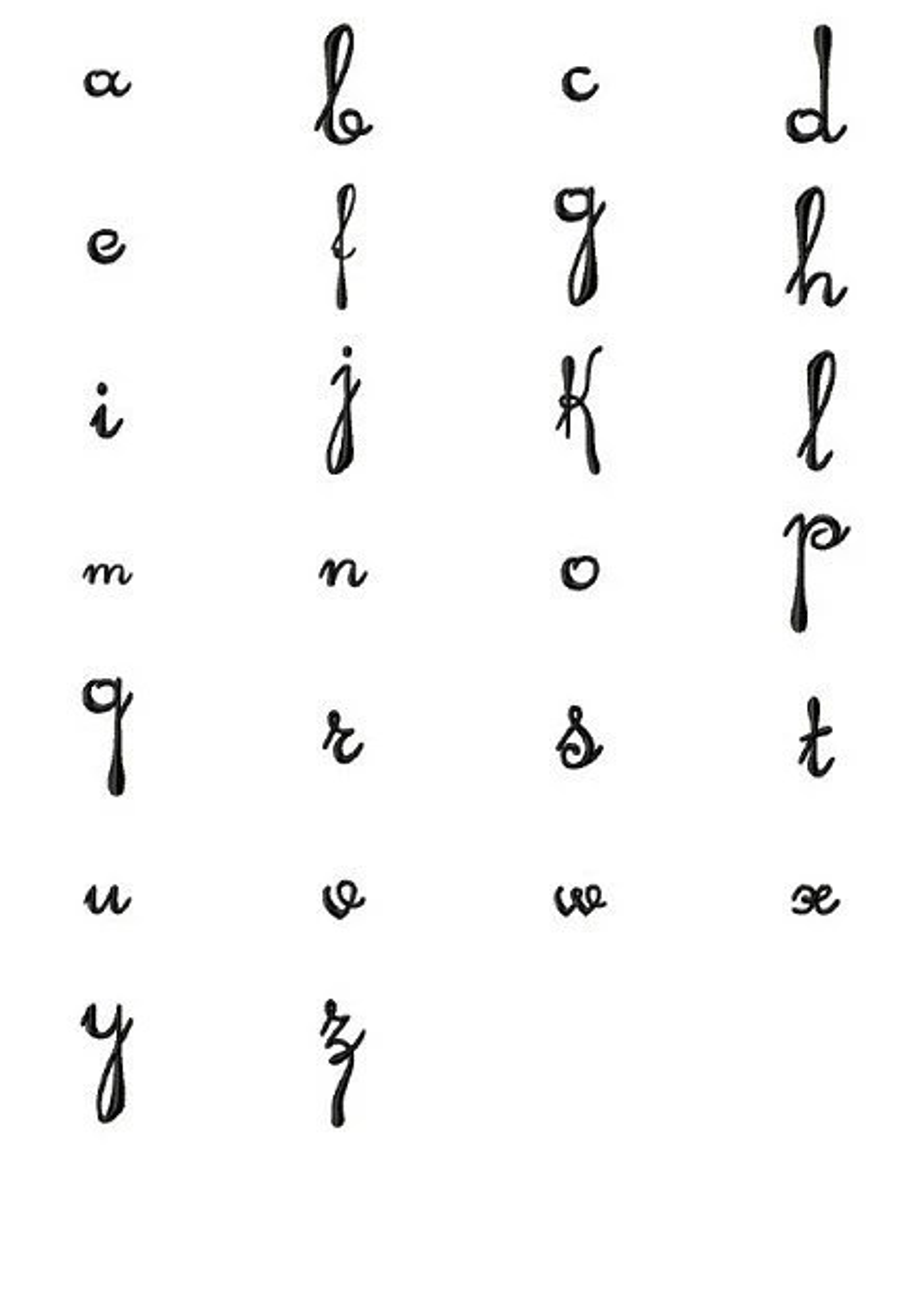 Heirloom Script Monogram Font Machine Embroidery Designs