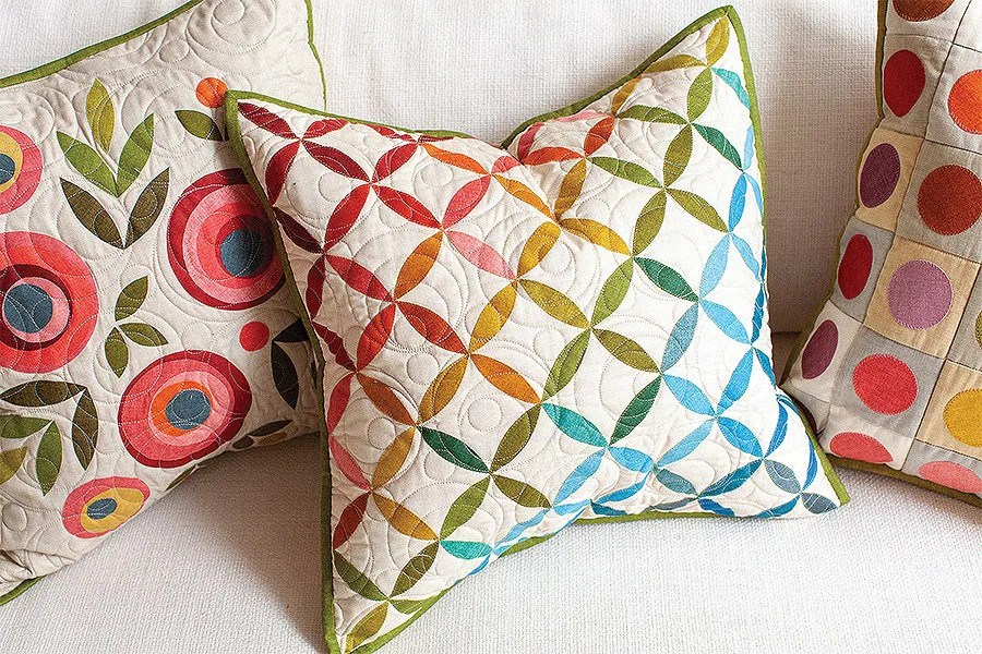 softcover book pillow talk quilted