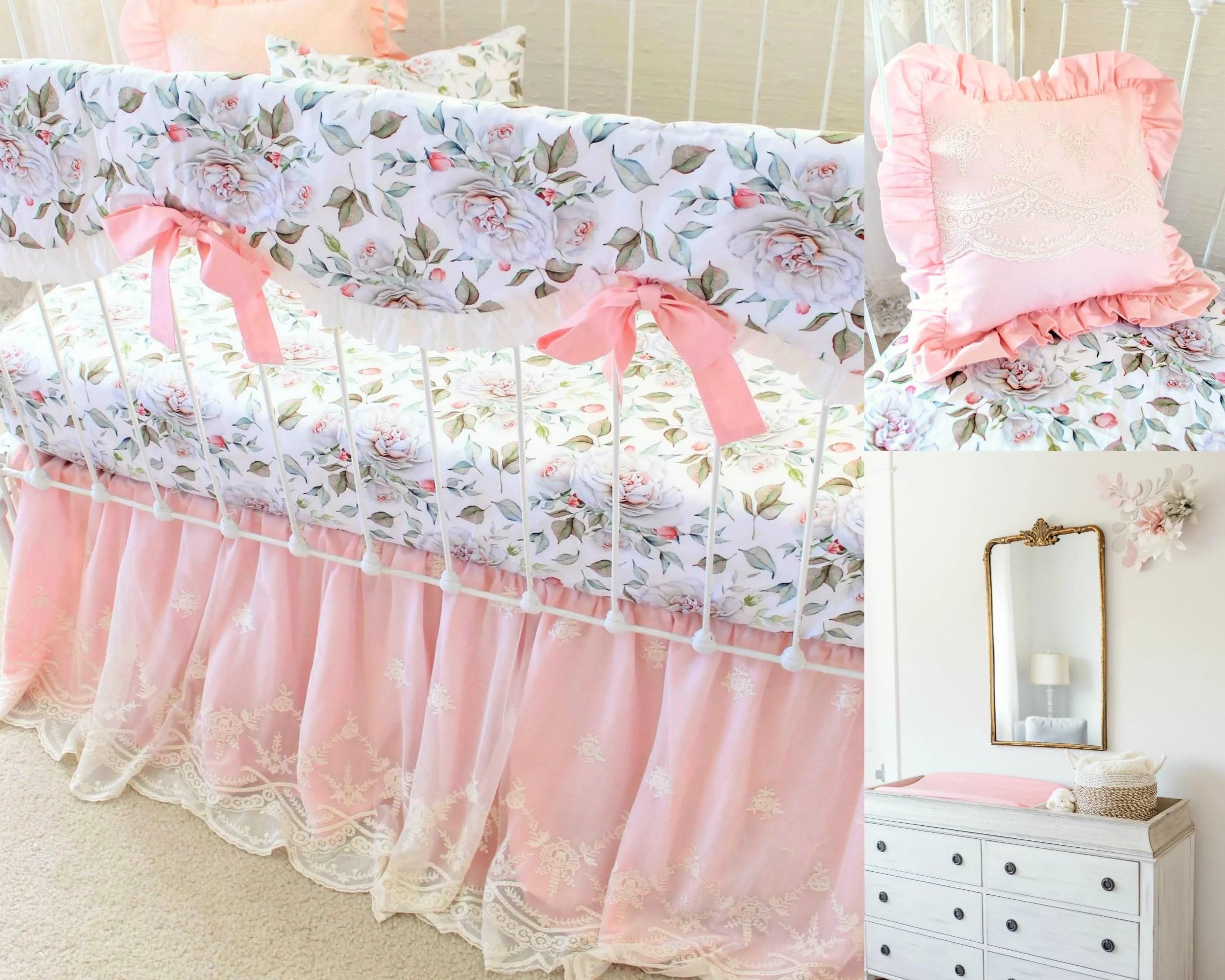 girls farmhouse nursery bedding